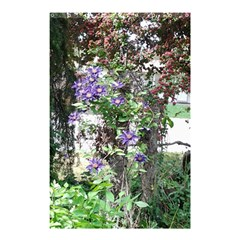 Purple Clematis Shower Curtain 48  x 72  (Small)