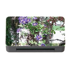 Purple Clematis Memory Card Reader with CF