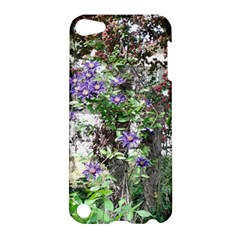 Purple Clematis Apple iPod Touch 5 Hardshell Case
