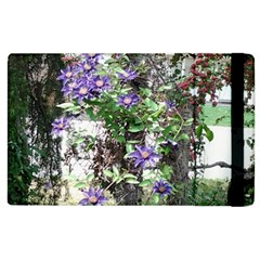 Purple Clematis Apple iPad 2 Flip Case