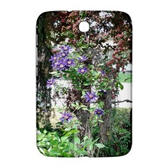 Purple Clematis Samsung Galaxy Note 8.0 N5100 Hardshell Case
