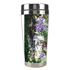 Purple Clematis Stainless Steel Travel Tumblers