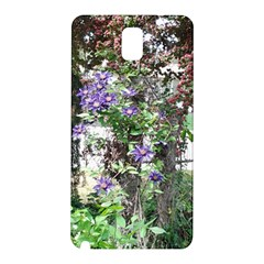 Purple Clematis Samsung Galaxy Note 3 N9005 Hardshell Back Case