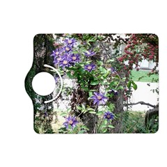 Purple Clematis Kindle Fire HD (2013) Flip 360 Case