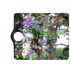 Purple Clematis Kindle Fire HDX 8.9  Flip 360 Case