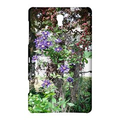 Purple Clematis Samsung Galaxy Tab S (8.4 ) Hardshell Case
