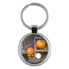 Pumpkins And Gourds Key Chains (Round)