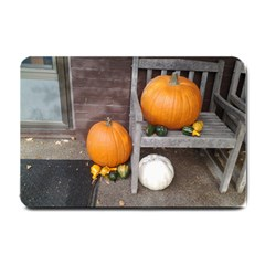 Pumpkins And Gourds Small Doormat