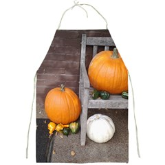 Pumpkins And Gourds Full Print Aprons