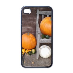 Pumpkins And Gourds Apple iPhone 4 Case (Black)
