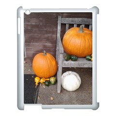 Pumpkins And Gourds Apple iPad 3/4 Case (White)