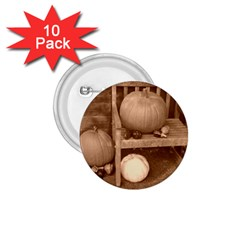 Pumpkins And Gourds Sepia 1.75  Buttons (10 pack)