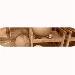 Pumpkins And Gourds Sepia Large Bar Mats