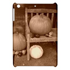 Pumpkins And Gourds Sepia Apple iPad Mini Hardshell Case