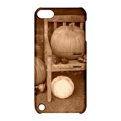 Pumpkins And Gourds Sepia Apple iPod Touch 5 Hardshell Case with Stand