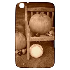 Pumpkins And Gourds Sepia Samsung Galaxy Tab 3 (8 ) T3100 Hardshell Case