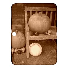 Pumpkins And Gourds Sepia Samsung Galaxy Tab 3 (10.1 ) P5200 Hardshell Case