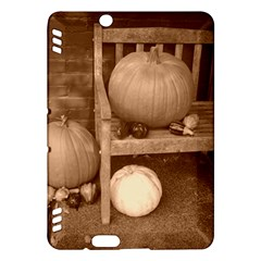 Pumpkins And Gourds Sepia Kindle Fire HDX Hardshell Case