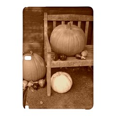 Pumpkins And Gourds Sepia Samsung Galaxy Tab Pro 10.1 Hardshell Case