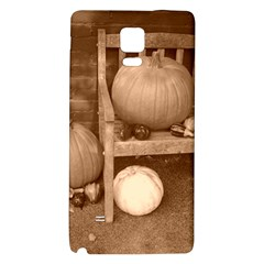 Pumpkins And Gourds Sepia Galaxy Note 4 Back Case