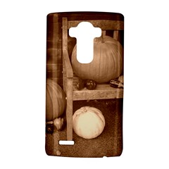 Pumpkins And Gourds Sepia LG G4 Hardshell Case