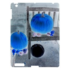 Pumpkins And Gourds Negative Apple iPad 3/4 Hardshell Case