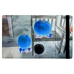 Pumpkins And Gourds Negative Apple iPad 3/4 Flip Case