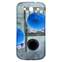 Pumpkins And Gourds Negative Samsung Galaxy S3 S III Classic Hardshell Back Case