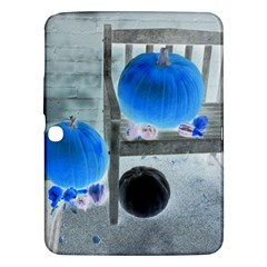 Pumpkins And Gourds Negative Samsung Galaxy Tab 3 (10.1 ) P5200 Hardshell Case