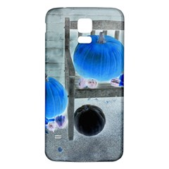 Pumpkins And Gourds Negative Samsung Galaxy S5 Back Case (White)