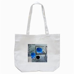 Pumpkins And Gourds Negative Tote Bag (White)
