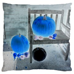 Pumpkins And Gourds Negative Standard Flano Cushion Case (Two Sides)