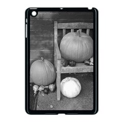 Pumpkind And Gourds Bw Apple iPad Mini Case (Black)