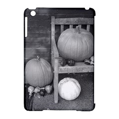 Pumpkind And Gourds Bw Apple iPad Mini Hardshell Case (Compatible with Smart Cover)