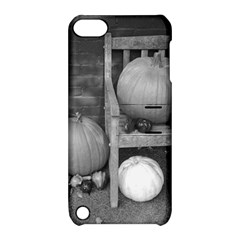 Pumpkind And Gourds Bw Apple iPod Touch 5 Hardshell Case with Stand
