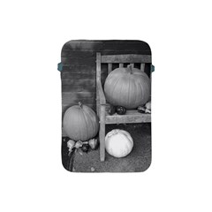 Pumpkind And Gourds Bw Apple iPad Mini Protective Soft Cases