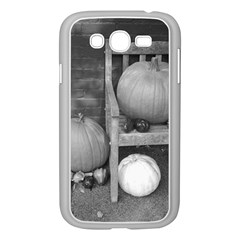 Pumpkind And Gourds Bw Samsung Galaxy Grand DUOS I9082 Case (White)