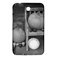 Pumpkind And Gourds Bw Samsung Galaxy Tab 3 (7 ) P3200 Hardshell Case