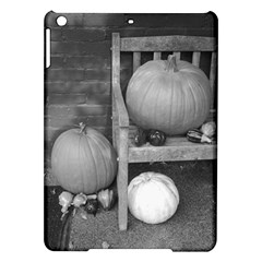 Pumpkind And Gourds Bw iPad Air Hardshell Cases