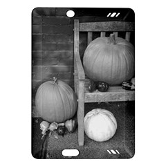 Pumpkind And Gourds Bw Amazon Kindle Fire HD (2013) Hardshell Case
