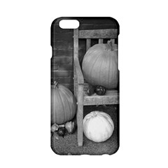 Pumpkind And Gourds Bw Apple iPhone 6/6S Hardshell Case