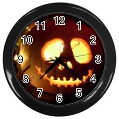 Pumkin Jack  Wall Clocks (Black)
