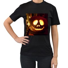 Pumkin Jack  Women s T-Shirt (Black)