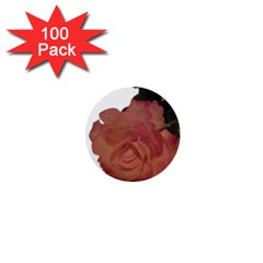 Poppys Last Rose Close Up 1  Mini Buttons (100 pack)