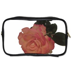 Poppys Last Rose Close Up Toiletries Bags