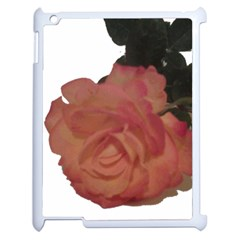 Poppys Last Rose Close Up Apple iPad 2 Case (White)
