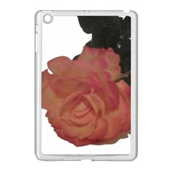 Poppys Last Rose Close Up Apple iPad Mini Case (White)
