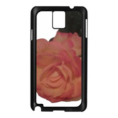 Poppys Last Rose Close Up Samsung Galaxy Note 3 N9005 Case (Black)