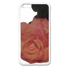 Poppys Last Rose Close Up Apple iPhone 6 Plus/6S Plus Enamel White Case