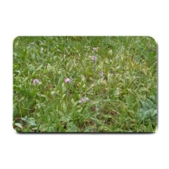 Pink Wildflowers Small Doormat